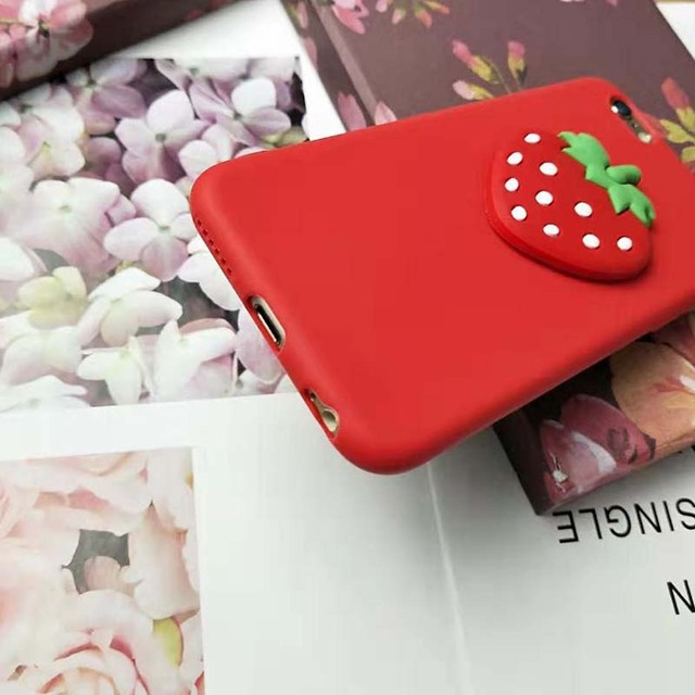Lovely Strawberry Case for iPhone