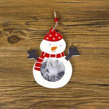 Креативная Деревянная Рождественская фоторамка Рождественские Дети TypeA-E фото как картина украшения для дома