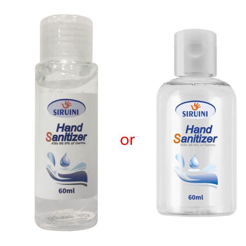 Quick Drying Mini Hand Sanitizer Medical Antibacterial Gel Hand Sanitizer 60ml