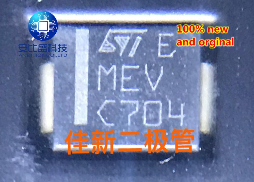 25pcs 100% New And Orginal  SM15T36A 15V Unidirectional Car TVS Diode DO214AB Silkscreen MEV   In Stock