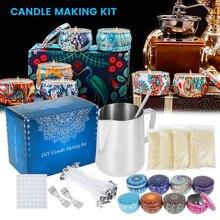 Набор инструментов для изготовления свечей 67 шт., «сделай сам», приспособление для свечей, поделки для свечей, товары для творчества, идеаль...