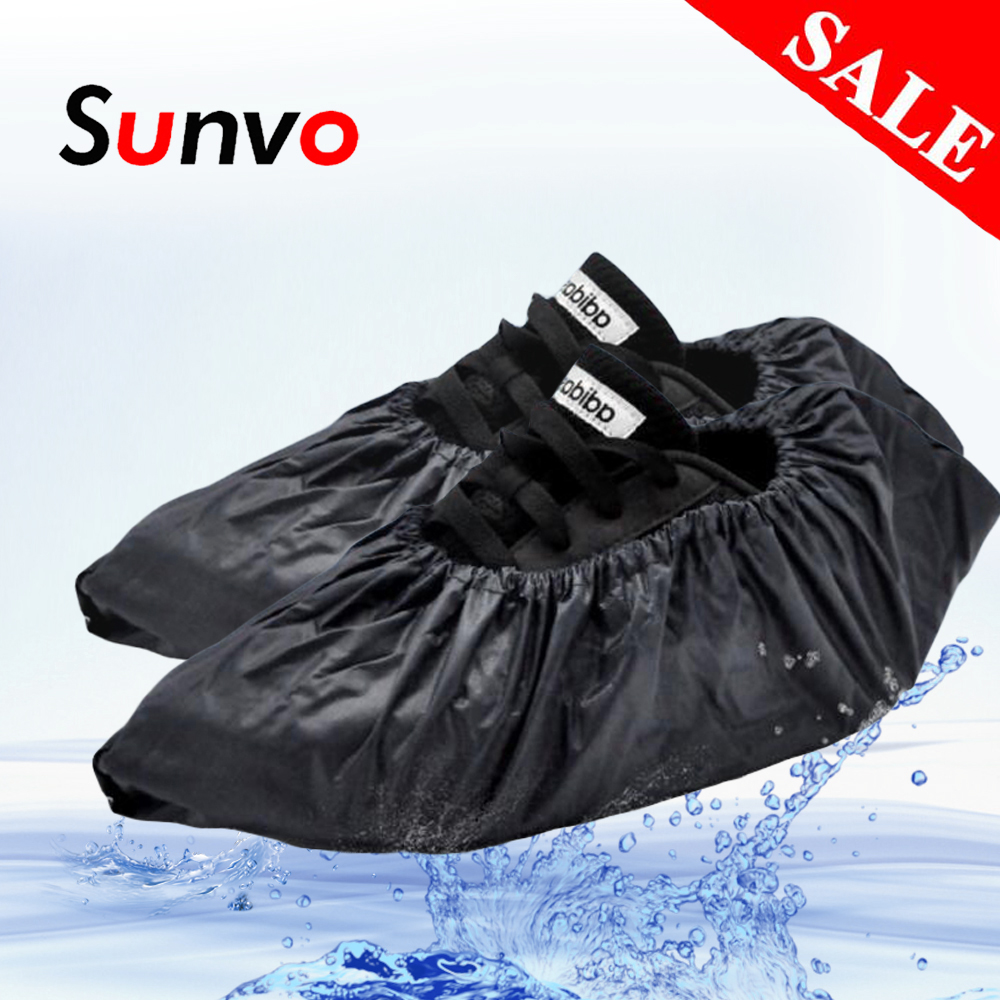 Shoe Covers For Men Women Reusable Waterproof Rain Shoes Protector Rainy Overshoes Wholesale Dropshipping Boot Accessories
