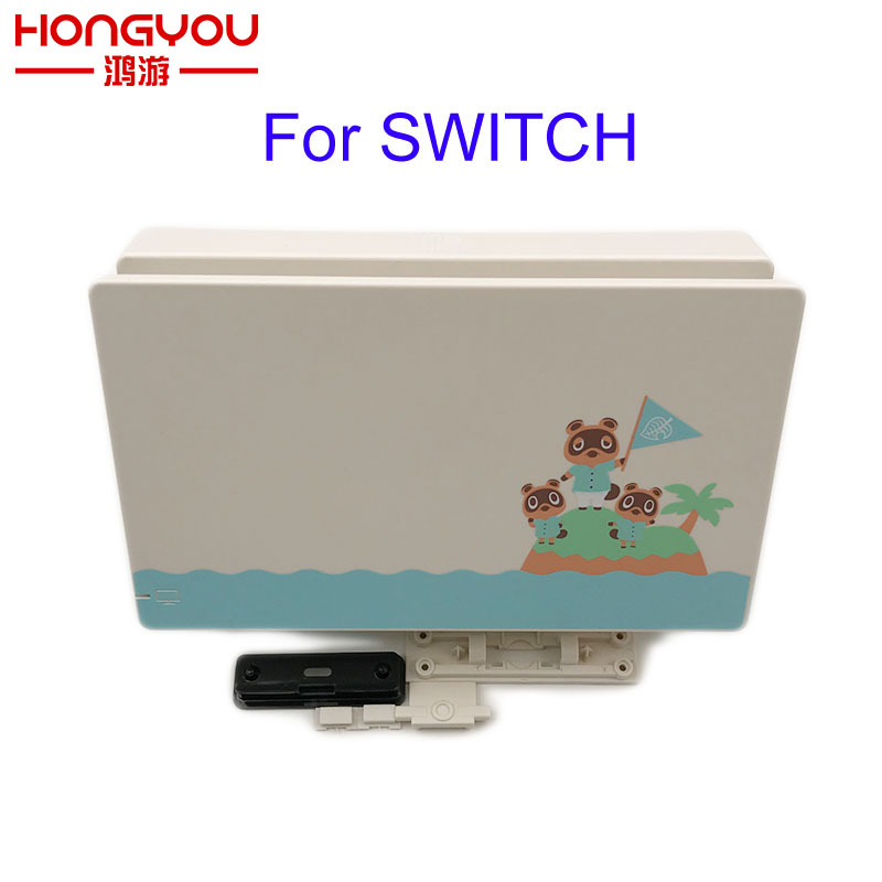 Dock Station Base charger Case Box For Nintend Switch Animal Crossing Replacement dock charger housing