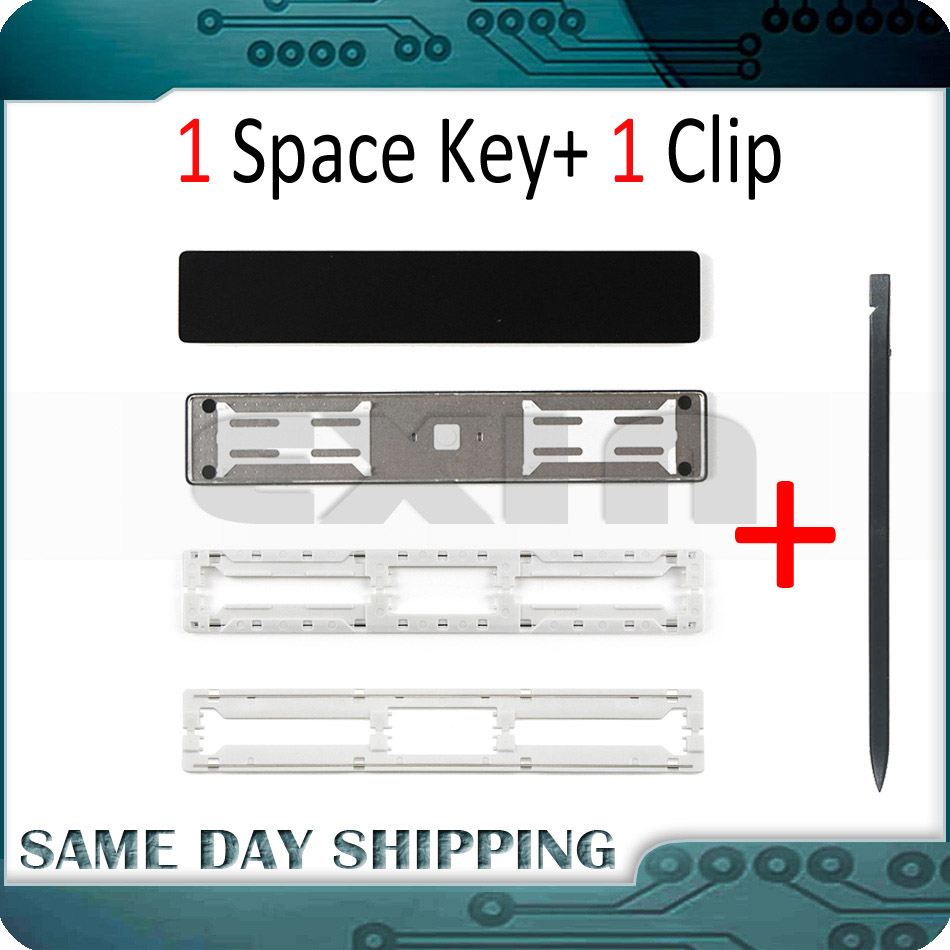 Laptop A1706 A1707 A1708 Keyboard Space Bar Key Cap Keys Keycap W/ Clip Scissor Hinge For Macbook Pro Retina 13
