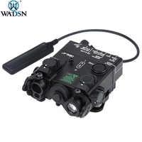 WADSN-minilinterna táctica de Metal para Dbal-A2, luz de Metal verde, punto IR, arma láser, Airsoft, luces DBAL Láser LED