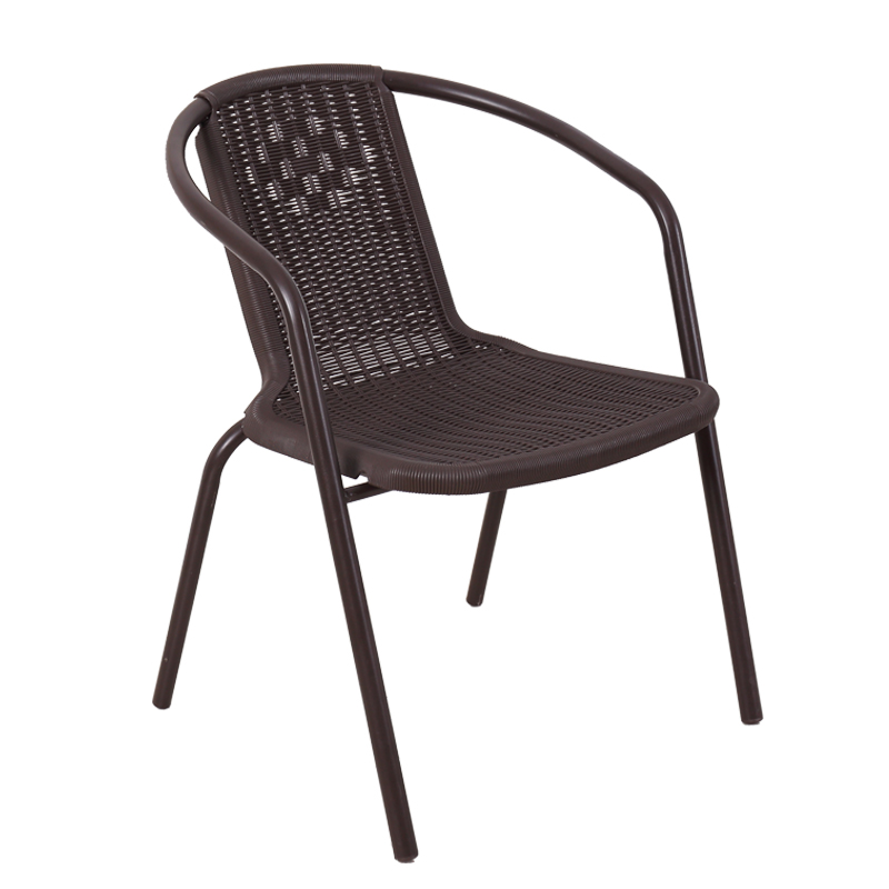 Cane Chair Outdoor Leisure Back Chair Adult Home Office Computer Chair Dining Chair Stool Recliner Hand Knit