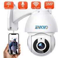 Mini cámara IP V380 Pro de 3MP, Wifi, detección de movimiento, inalámbrica, para exteriores, impermeable, alta velocidad, domo, seguridad del hogar, CCTV