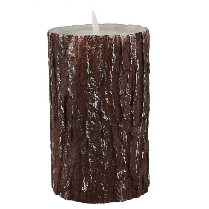 Top-Pine Tree Led Candle With Dancing Flame,Flameless Candles Battery Operated Led Candles Light Halloween/Christmas Candle Ligh