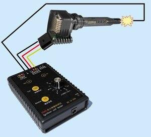 Image 5 - Nuovo arrivo! Test della bobina di accensione della benzina 12V del Gas naturale 24V del Tester del rivelatore della bobina di accensione dellautomobile IG80