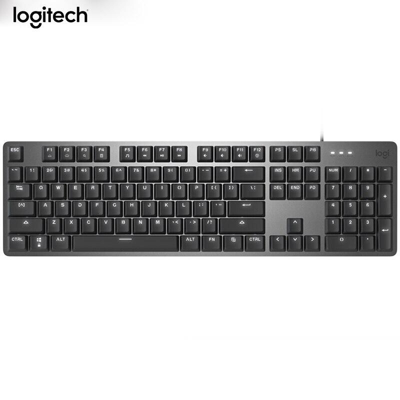 Clavier de jeu de rétroéclairage de clavier de conception ergonomique mécanique de jeu de câble de Logitech K845-CHERRY MX Original pour l'ordinateur