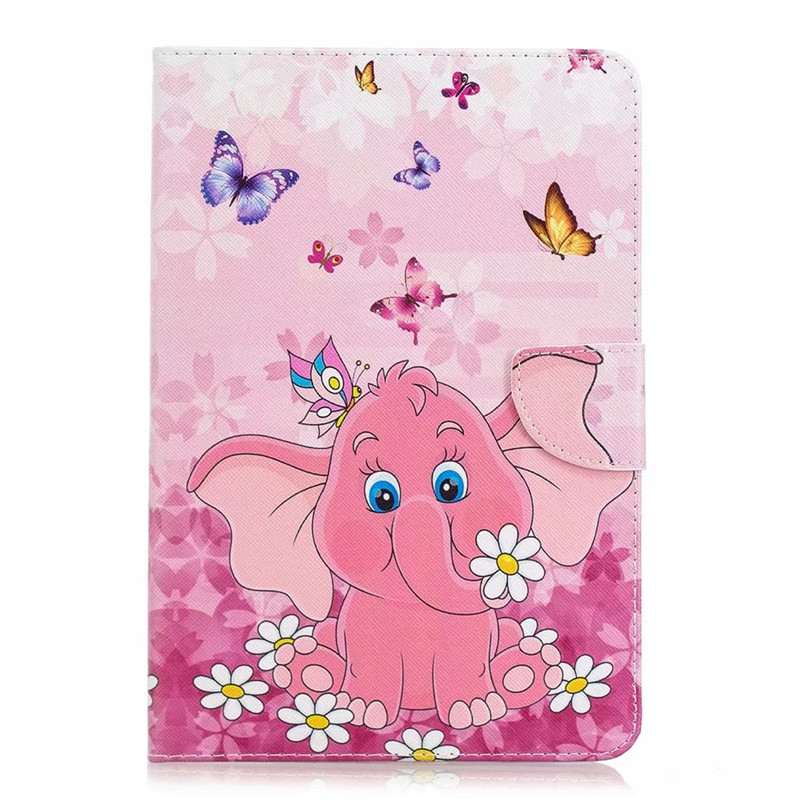 Elephant Green For iPad Air 3 Pro 10 5 2019 2017 Case Cute Unicorn Cat Magnetic Tablet Cover