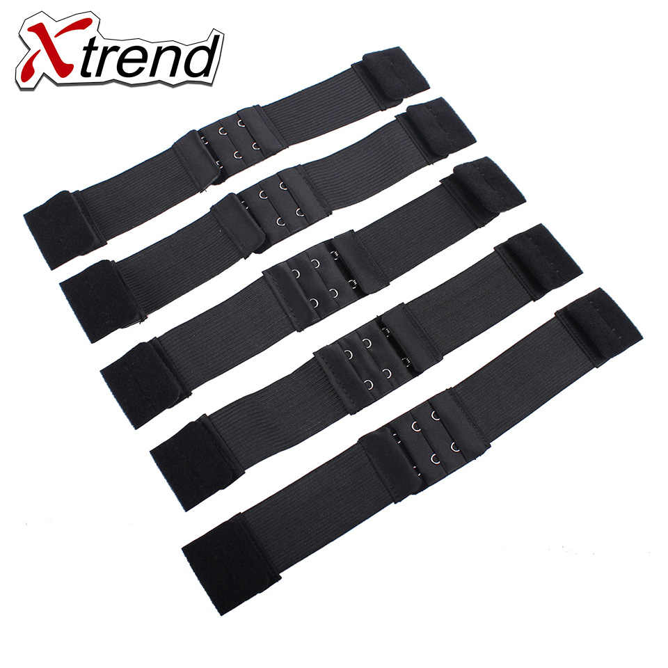 Xtrend Adjustable Black Nylon Highest Elastic Bands For Wigs