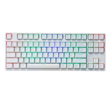 87 ключ NKRO USB Проводная RGB подсветка переключатель Gateron PBT двойная съемка клавиатуры Механическая игровая клавиатура для E-sport офиса ПК ноутбука