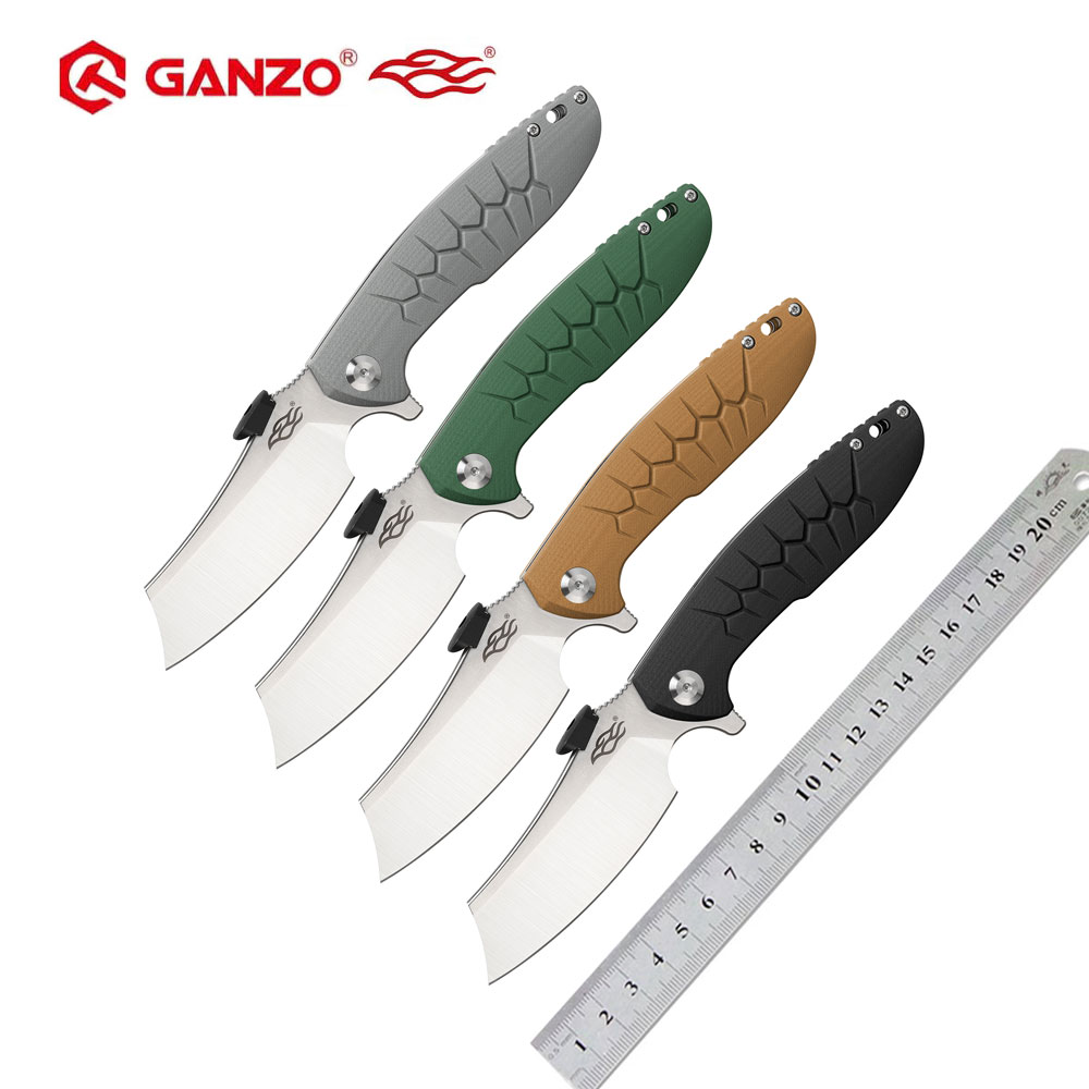 Ganzo Firebird FBKNIFE FH81 D2 Blade G10 Handle Folding Knife Survival Tool Pocket Knife Tactical Edc Outdoor Tool