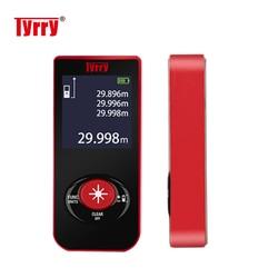TYRRY Laser Rangefinder Digital Range Finder Tape Distance Measuring Meter Tools Laser Distance Meter