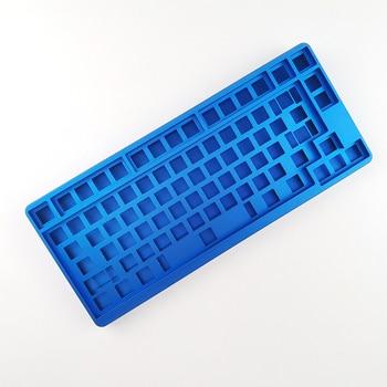 ID80 RGB Backlight Mechanical Keyboard QMK Program Custom Clavier Gamer 80 Keys For Tablet Pc Gamer Personnalisable 3