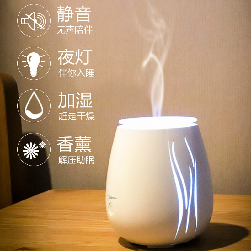 White Electric Incense Burner Mini Mute Ultrasonic Air Humidifier Bedroom Incense Holder Porte Encens Aroma Oil Burner MM60XXL
