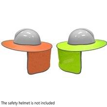 Безопасность на рабочем месте Safurance светоотражающие полосы шеи щит безопасности жесткий шляпа кепки солнцезащитный козырек защитные шлемы