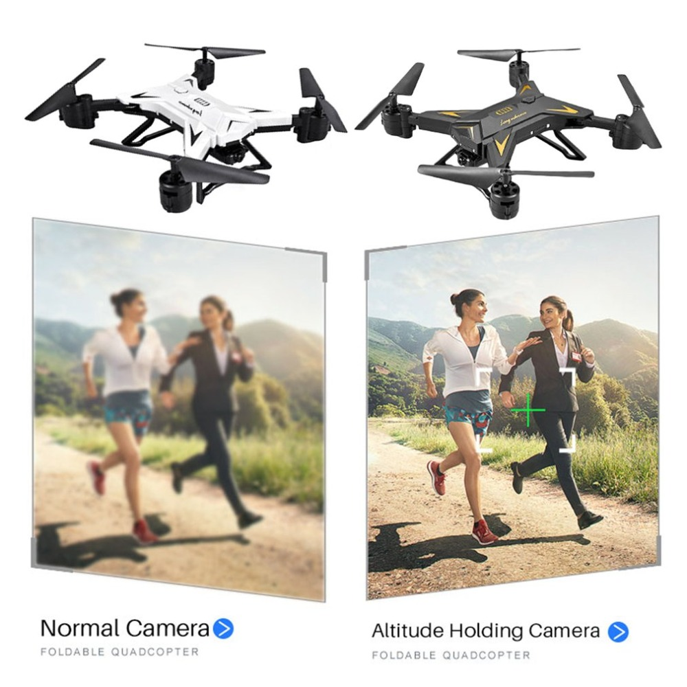 Christmas New  KY601S Selfie 1080P HD 4 Channel Long Lasting Foldable RC Quadrocopter With Camera Drone WIFI Timely Transmission