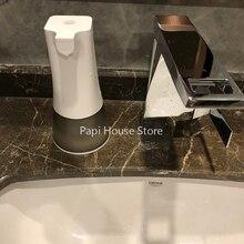 USB قابلة للشحن التلقائي موزع سائل الصابون IPX4 مقاوم للماء 0.25s عالية الحساسية الاستشعار 350 مللي المطبخ الحمام غسل اليد USB قابلة للشحن التلقائي موزع سائل الصابون IPX4 مقاوم للماء 0.25s عالية الحساسية الاستشعار 350