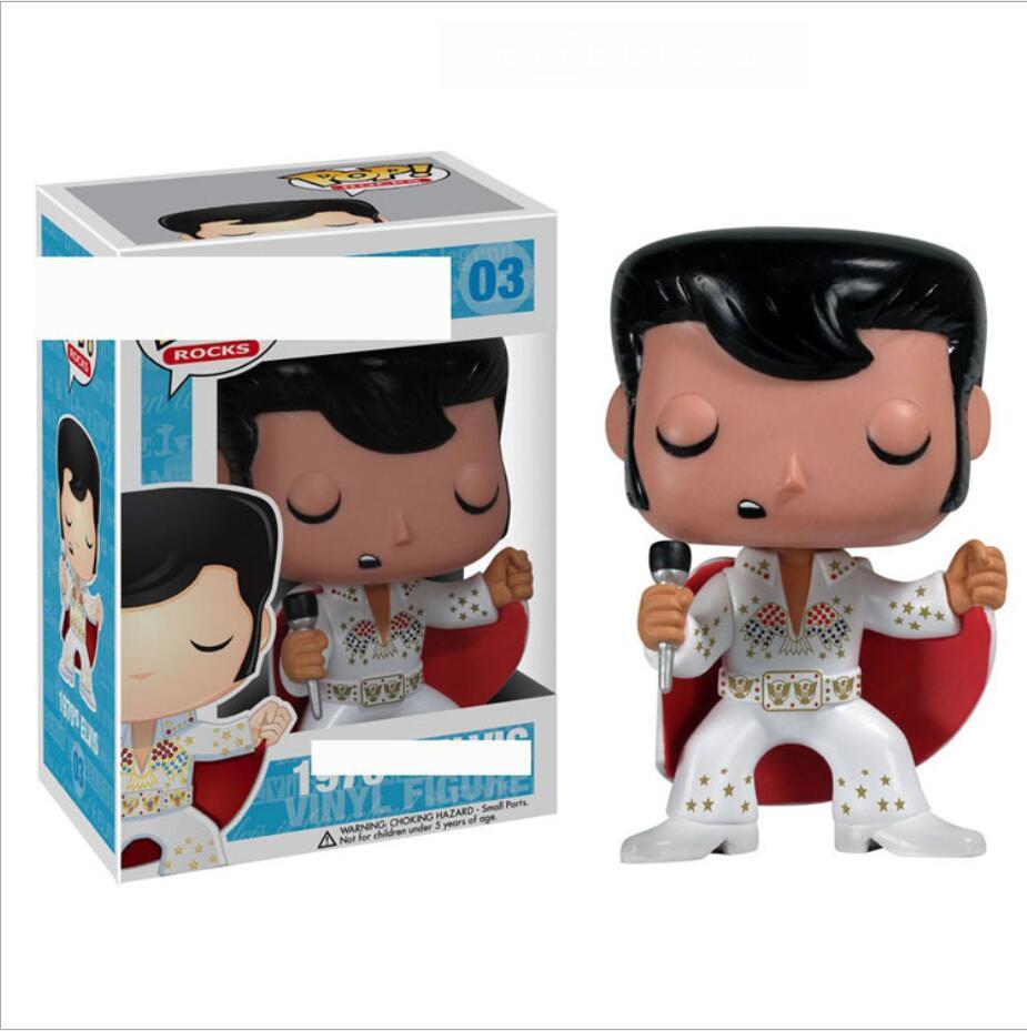FUNKO POP Elvis Presley poupée Collection jouet figurine garçon jouets pour enfants|Jeux d