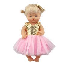 2020 nova chegada bonecas vestido para 42 cm nenuco boneca 17 polegadas roupas de boneca do bebê