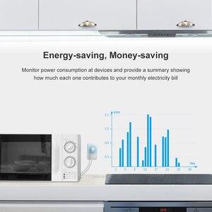 Image 4 - Itead Sonoff IW100/IW10 US Wi Fi Смарт контроль мощности розетка и переключатель энергосберегающая защита от перегрузки через приложение eWeLink