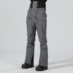 Image 1 - Pantaloni da sci da Uomo Pantaloni di Inverno Degli Uomini Pantaloni Da Neve Maschio Snowboard Pantaloni Uomo Sci Snowboard Sci Tute e Salopette Impermeabile di Sport Pantaloni