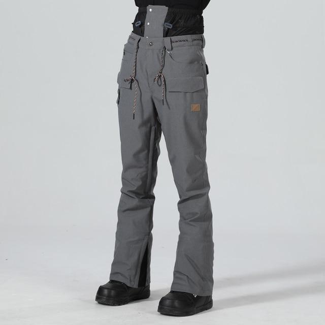 Pantaloni da sci da Uomo Pantaloni di Inverno Degli Uomini Pantaloni Da Neve Maschio Snowboard Pantaloni Uomo Sci Snowboard Sci Tute e Salopette Impermeabile di Sport Pantaloni