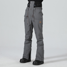 Pantalons de Ski pour hommes, salopette de Sport imperméable pour hiver, Snowboard, Snowboard