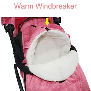 Image 3 - Multifunctional Baby Warm Sleeping Bag Baby Stroller Snow Cover Foot Cover Universal Stroller Accessories Leg Cover Winter