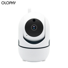 Mini IR Night Vision IP Camera WiFi Wireless HD 1080P Cloud Baby Monitor Auto-track Home Security Surveillance CCTV Network Cam wetrans security wifi camera cloud storage 720p hd p2p ir night vision smart camera baby monitor home surveillance wireless cam