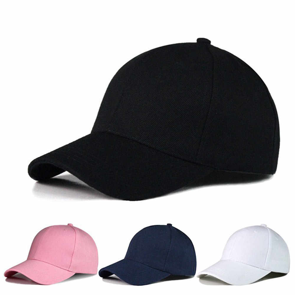夏 2019 ブランド新コットンメンズハットライトボード無地ユニセックス女性男性帽子野球キャップフィットスナップバックキャップカジュアルキャップ