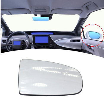 New Left Side Heated Wing Mirror Glass 51167174980 51167298158 Replacement for E70 x5 x6 E71 E72 image