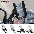 Для YAMAHA NMAX N-MAX 155 NMAX125 2015-2020 на руль мотоцикла или зеркало заднего вида мобильный телефон держатель телефона/GPS кронштейн Подставка для телефо...