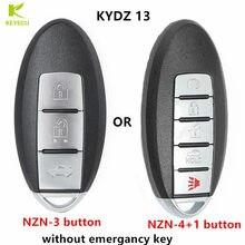 Kydz 13 chave remota universal inteligente NZN-3 botão ou NZN-4 + 1 botão sem chave emergancy (versão no exterior)