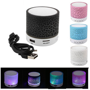 Image 1 - LED Portable Mini Bluetooth Speakers Wireless Speaker With TF Mic Blutooth Music For Xiaomi iPhone phone