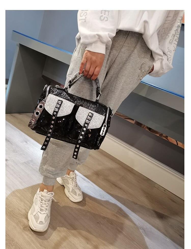 crossbody alças superiores bolsa tote desginer sac femme
