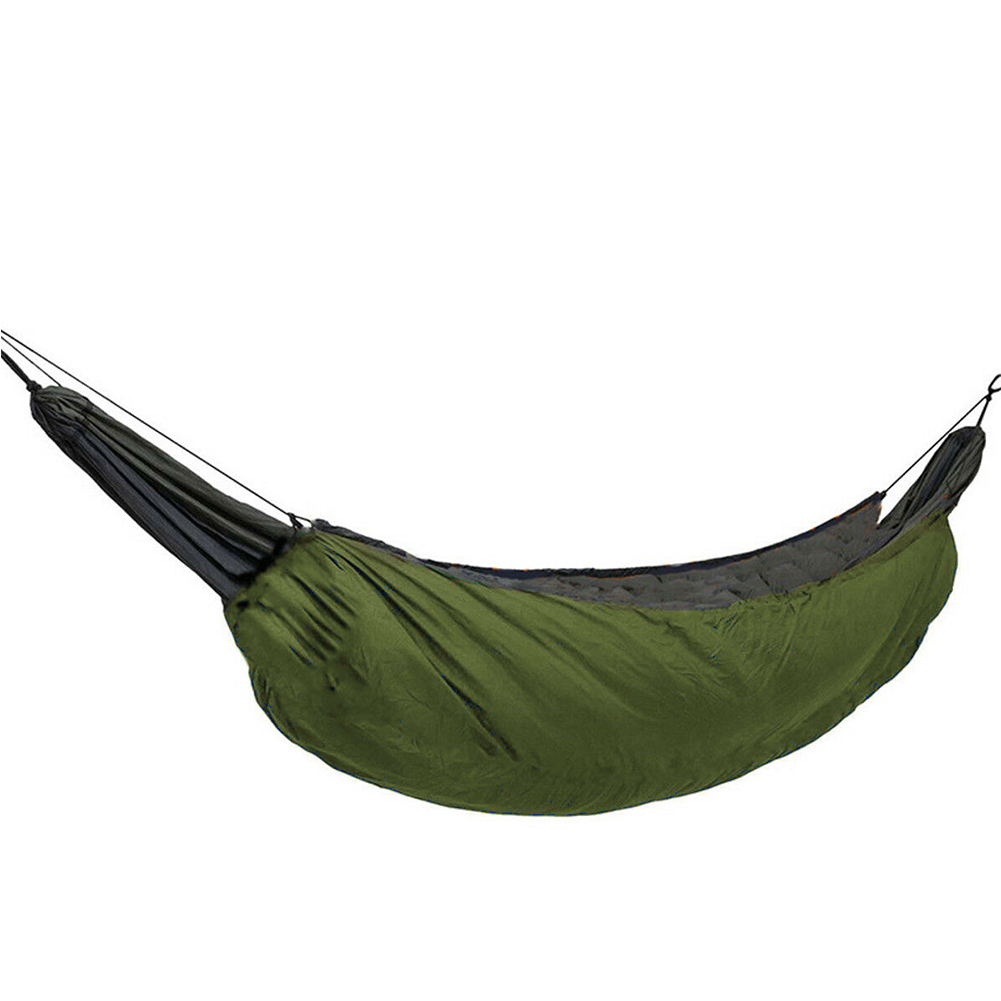 Hammock Sleeping Bag Garden Hiking Hunting Under Quilt Warm Windproof Outdoor Camping Winter Hanging Portable Travel Leisure