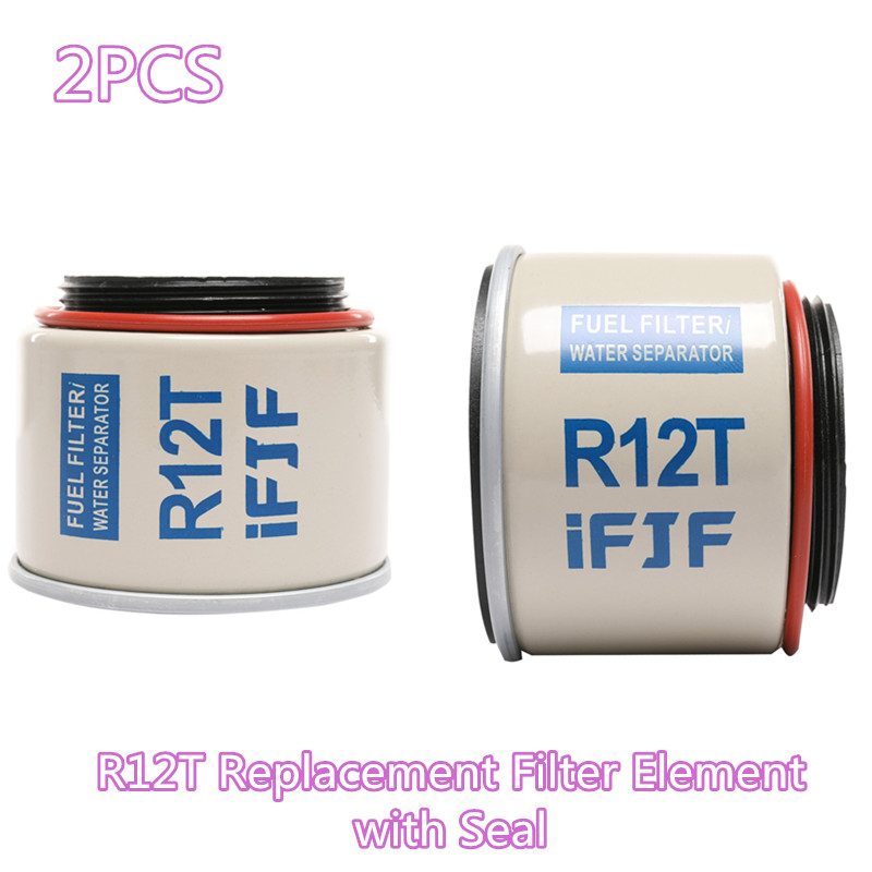 iFJF Automotive Replacement Filter of R12T Fuel Filter//Water Separator 120AT NPT ZG1//4-19 fit Diesel Engine