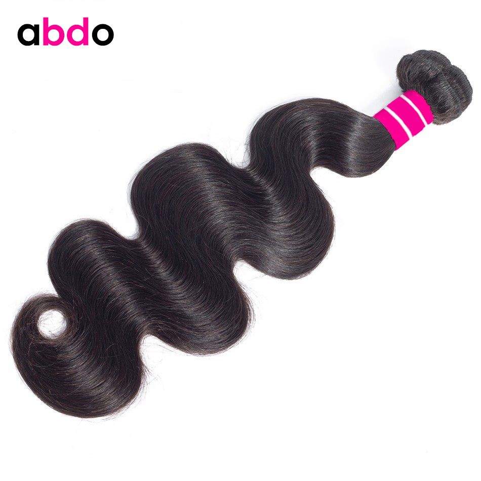 Body Wave Bundles Mongolian Human Hair Weave Bundles 26 28 30 Inch Bundles Natural Color Non Remy Human Hair Extensions Abdo