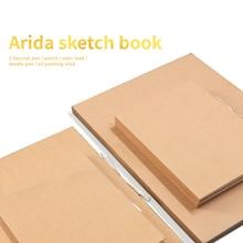35Sheets Blank Flipbook painting sketchbook kraft paper cover painting sketchbook animation cartoon Art creation