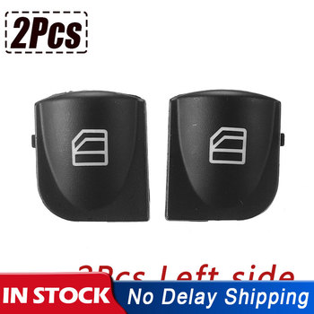 2 Pcs Left Power Window Switch Console Cover Caps For Mercedes W203 C-CLASS Power Window Switch C320 C230 C240 C280 image
