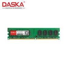 DASKA 2GB DDR2 pc2 6400 800Mhz masaüstü bilgisayar pc2-6400 ddr2 667 MHZ (intel amd) yüksek uyumlu