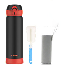 Thermos Bottle Vacuum Flask Coffee Mugs Cup Water Ravel Mug Drinking 50T081