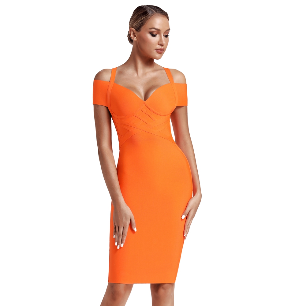 Women Orange Last Bandage