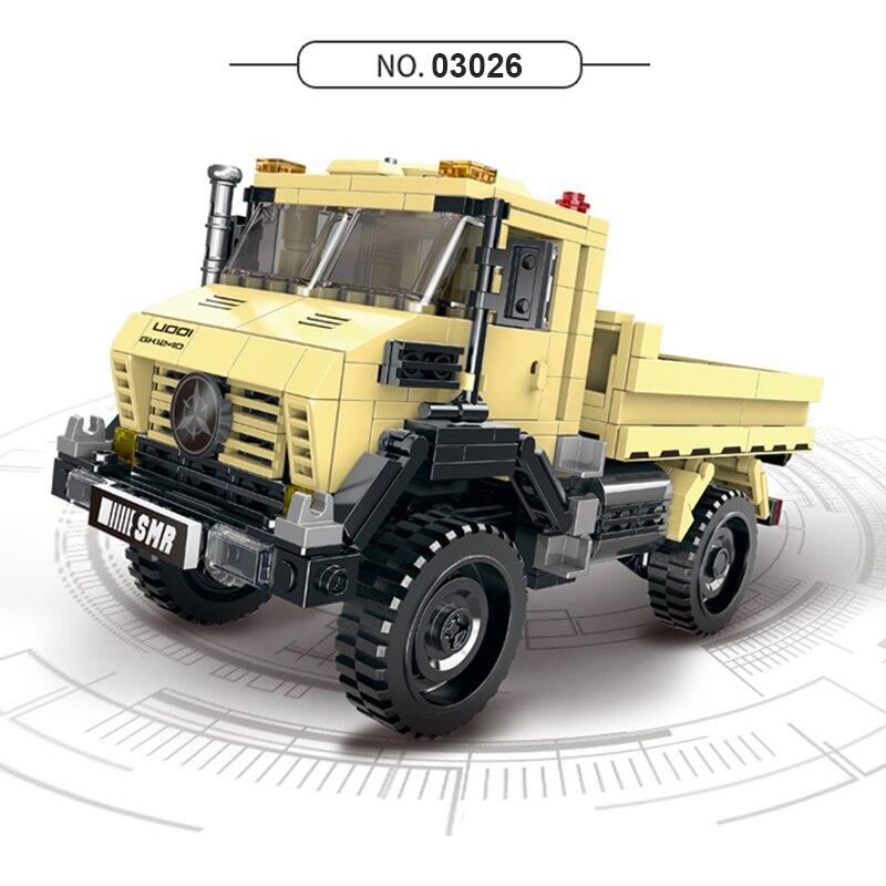 XingBao-03024-03025-03026-03027-TECHNIC-Car-Series-Off-Road-Adventure-Truck-Set-Building-Blocks-DIY (4)