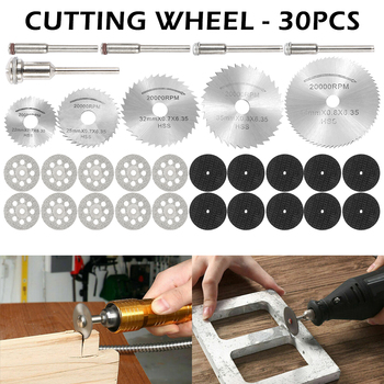 30PC HSS Circular Saw Blade Rotary Tool Grinding Disc for Dremel Metal Cutter Power Tool Wood Cutting Discs Drill Mandrel Cutoff tool tool lateralus 2 lp picture disc