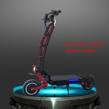 Monster 95 km / h Scooter eléctrico Dualdrive de 11 pulgadas