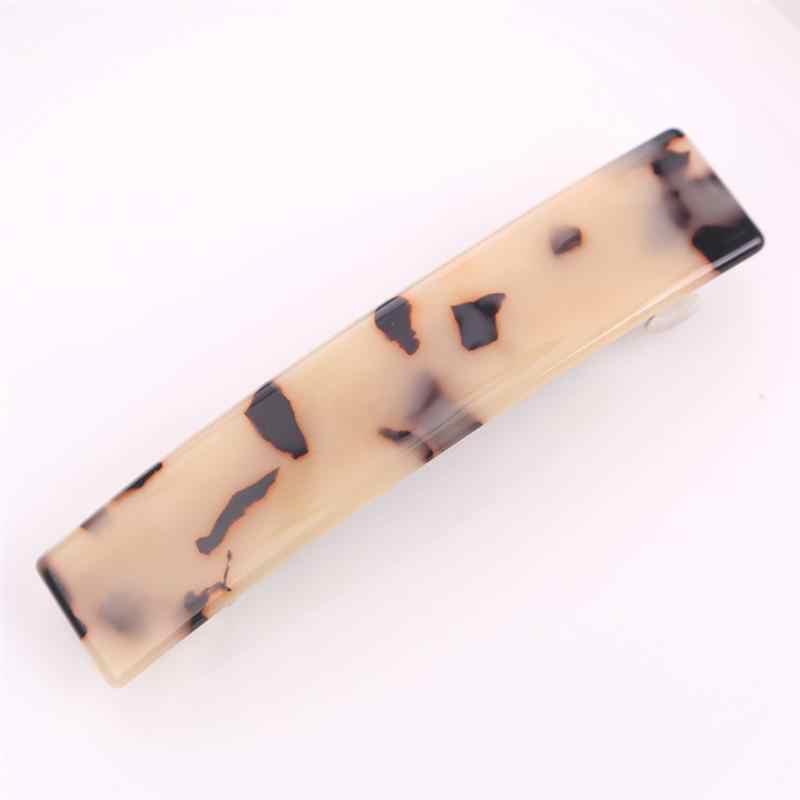 4pcs Duck Teeth Hairpins Long Marble Elegant Hair Pin Hair Clip Headdress DIY Barrettes For Women Ladies